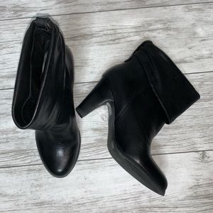 BCBGeneration Black Ankle Boots Size 6B New